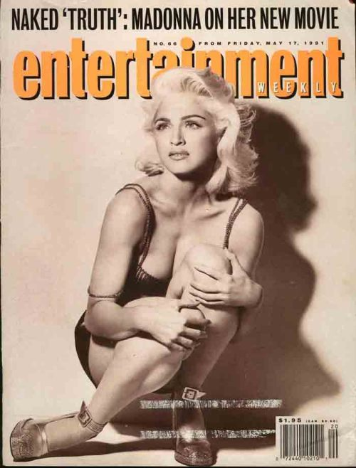 "Naked ""Truth"": #Madonna On Her New Movie - Entertainment Weekly May 17, 1991"