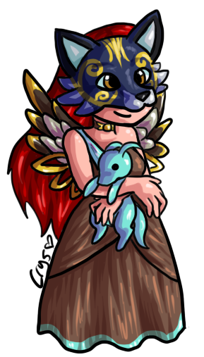 dances for doodles prize for Falini_Fyreheart.chibi of her HA