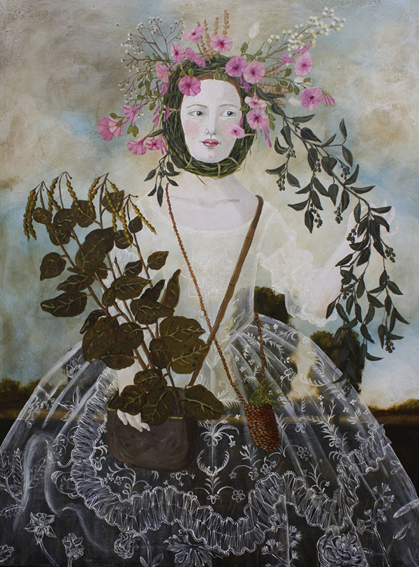 artisticmoods:  Plant Collector. By Anne Siems, 2013. ArtisticMoods: posting on Facebook & Twitter.