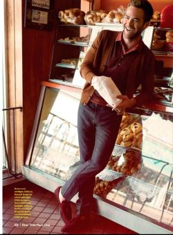 mensfashionworld:  Chris Pine by Yu Tsai for Esquire