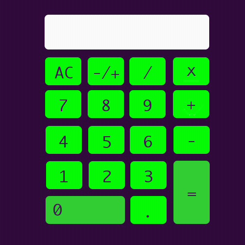 Just designed a Calculator app icon