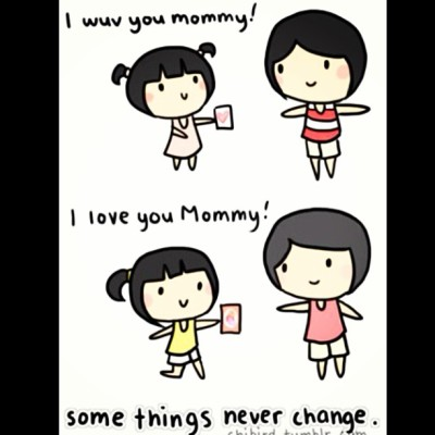 I love you mummy! ❤ Happy Mother's Day.