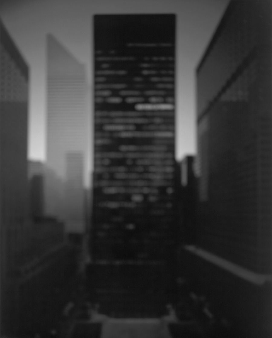 Hiroshi Sugimoto - Seagram Building, New York City, 1997 via Art Blart