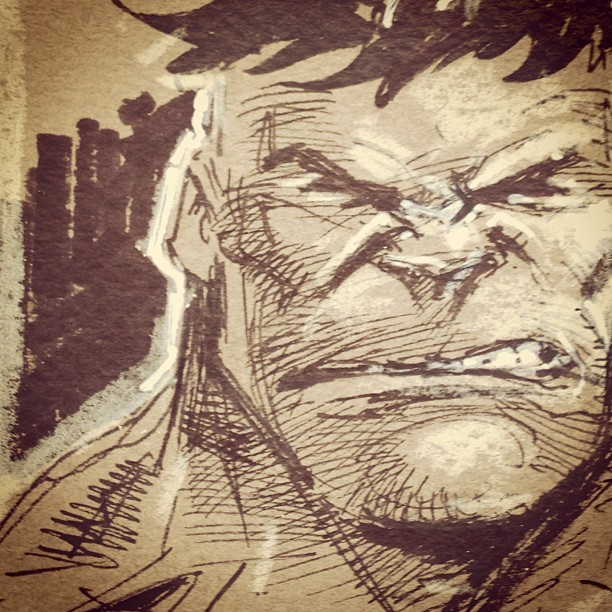 #marvel #hulk warm up