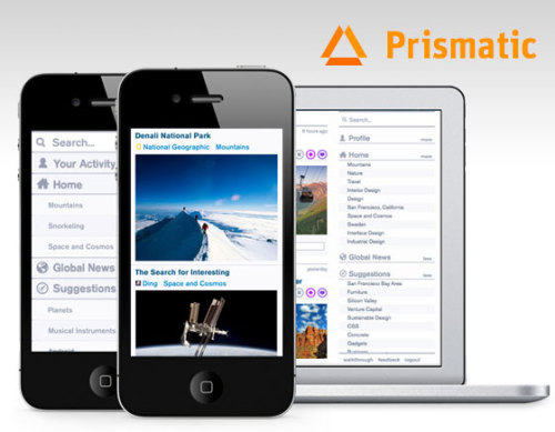 Prismatic iPhone iPad : Your Personal Newsfeed (Free App)