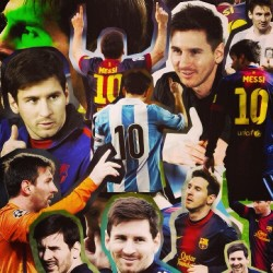 keviniifes:  #Messi #1 #the #fucken #greatest #<3