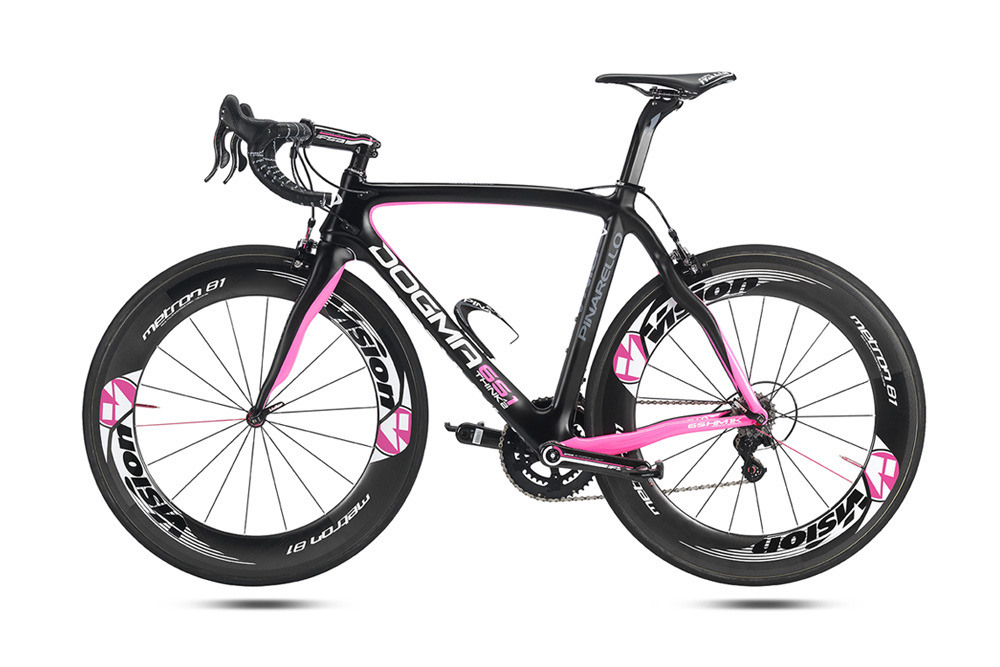 Pinarello Dogma 65.1 Think 2 Giro d'Italia special edition.  Please remember to like our Facebook page: https://www.facebook.com/CyclingScene