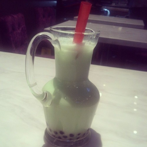Honeydew Milk Tea time