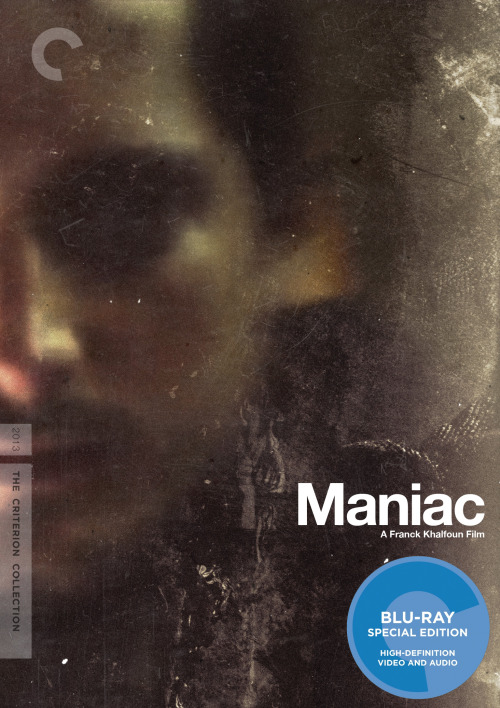"Criterion Cover for Franck Khalfoun's Remake of ""Maniac"" MM"