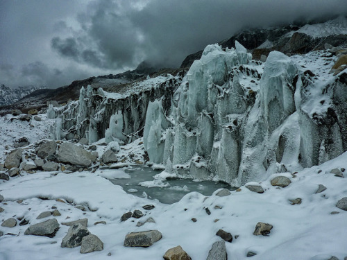 Khumbu Glacier on Flickr.Near Mt Everest Base Camp, #Nepal