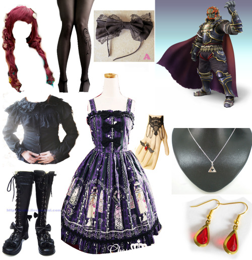 because Ganondorf is one of my fav characters. I made this. (I would wear it) Submitted by angry-moth-noises!