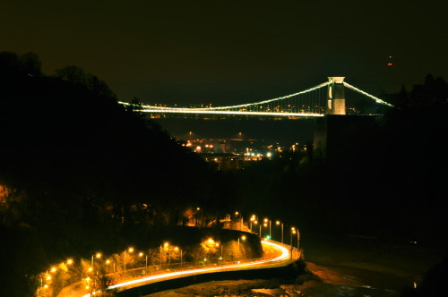hey there bristol suspension bridge