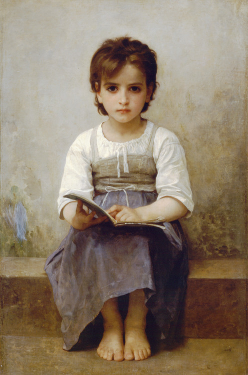 ponderful:  William-Adolphe Bouguereau, The Difficult Lesson, 1884