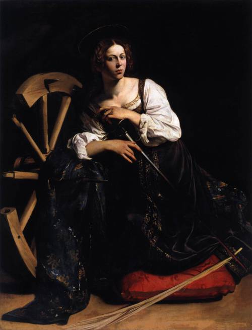 can-s-passion:   Caravaggio  St Catherine of Alexandria    //