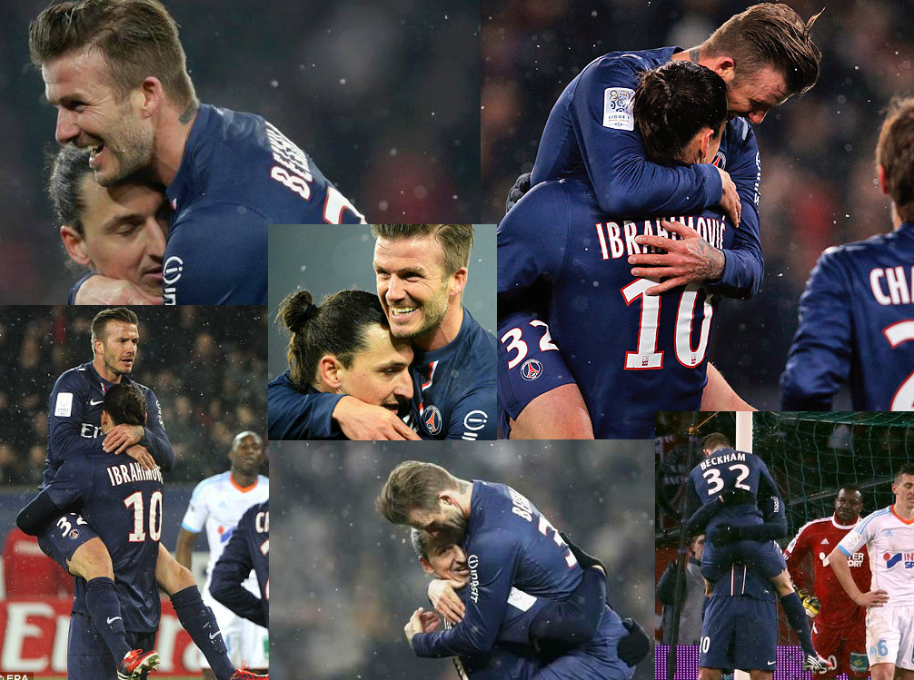 David Beckham gets to work on his personal brand at PSG.