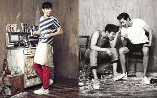 2PM to be featured in the June issue of VOGUE Korea with 12 page spread! 「TIME FOR 2PM」