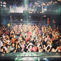 #amp crowd decently packed last night! I'm on the middle with my hands up in the red shirt with @shaynarogers_ @lexiix3renee and @brandonwomack close by🙌😎