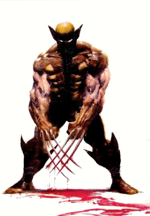 thefandomzone:  WOLVERINE by Mike Deodato