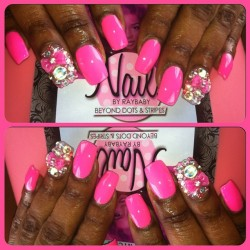 itsraybaby:  #pink #pinknails #nailsbyraybaby  #handpaintednailart  #dopefashion  #castleberryhill #castleberryhills  #nailswag #atlantahair #loveit #instafashion #atlantafashion #phuckyonails #phuckyonailtech #junknails #3dnailart #atlantanails #atlantanailart   ———-> TEXT 404-721-2315 —> for ALL/ANY APPOINTMENT/PRICING INFO