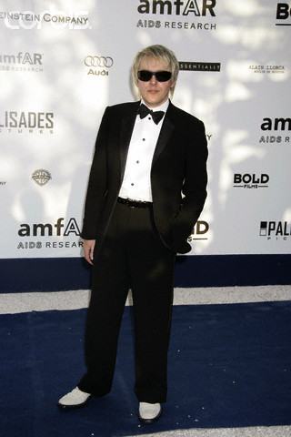 "nickrhodesclothes:  Nick Rhodes at the ""AMFAR"" Party during the 59th Cannes Film Festival, 2006."