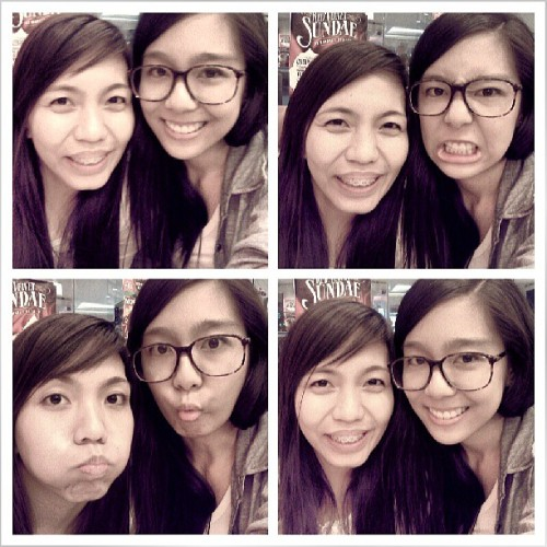 After 10 years nagkita din! Yey! :) Sundate with Loribelle. :)