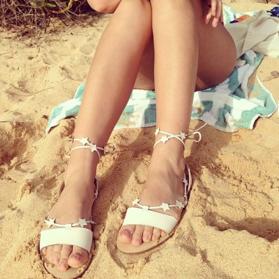 my new loeffler randall starla sandals. via the calivintage instagram.