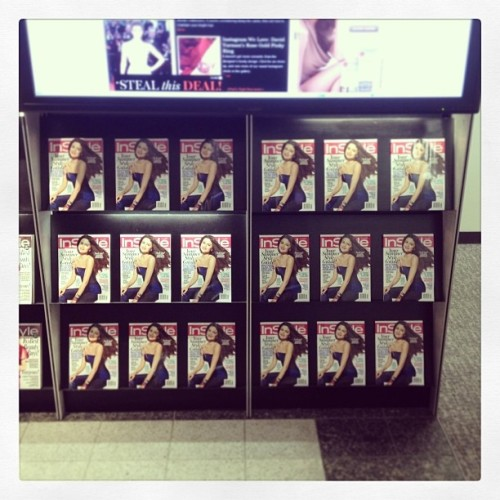 @instylemagazine: They're here! The InStyle lobby's stocked with a fresh batch of June issues, do you have your copy yet? #SelenaGomez