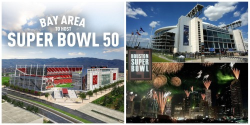 NFL selects Santa Clara for Super Bowl L, Houston for Super Bowl LI