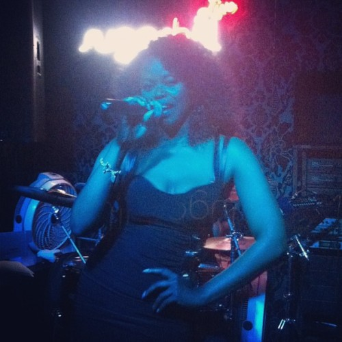 Ms @erinstevenson blazed the stage @sugarhillbarandlounge #pvnation #noegos (at Sugarhill Lounge)