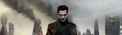 "STAR TREK: INTO DARKNESS [movie] Review  *SPOILER ALERT* :: It's kind of surreal that the 2nd review I ever blogged was for JJ Abrams first attempt at a ST movie, and now here we are again. So then, shall we begin? The first question I got from people was ""is it better than IronMan3"" and yes, it is. The second was ""what's a Tribble?"" which right away should clue you in that THERE ARE THINGS IN THIS MOVIE THAT RELATE DIRECTLY BACK TO THE ORIGINAL MOVIES. Remember how they changed the timeline in #1, yup, that didn't change everything in the universe. Tribbles are still a thing (though they only make a small appearance) and a familiar face pops up, with a twist. That being said, I urge you to first go back and at least watch the first two original ST movies…*ahem*…the second one being ""Wrath of Khan""…..*cough*…..for no reason……….. I loved that they continued with the sequel-but-only-because-of-different-timeline thing. It makes twists that you THINK will happen that much juicer. And it makes the ending that much more white knuckling!  I don't really have that much more to say about it. It's funny, Spock is the friggin man, lots of things to pew, Alive Eve is a babe, and that Sherlock dude…Slapperbotch…or…whatever it is…has the coolest voice in the world!"