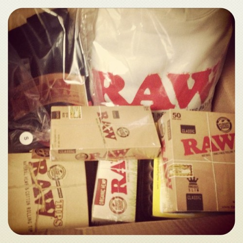 Got hooked up thanks to @rawlife247 & @van_styles - j's on me!