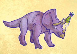 Birthday triceratops I thought I uploaded this already but I guess not.