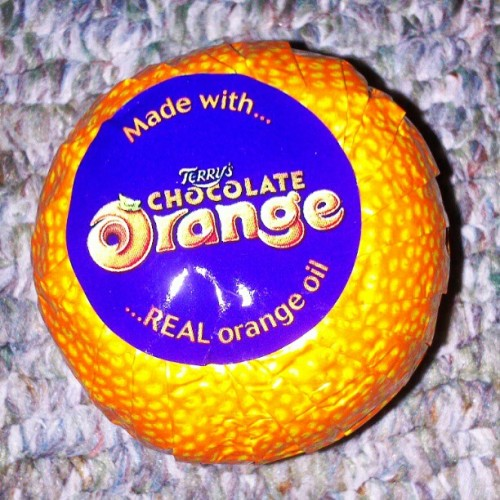 Gotta love chocolate orange! C: <3