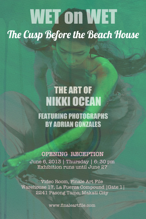 Look who's joining me on my art show: talented photographer Adrian Gonzales :) Save the date!