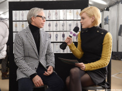 The Thread host Jessica Stam sits down with Tommy Hilfiger to talk about the inspiration behind his Fall 2013 collection: http://bit.ly/JessicaTheThread19