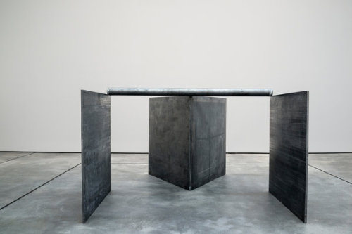 halloween-in-january:  Richard Serra at David Zwirmer, NY.