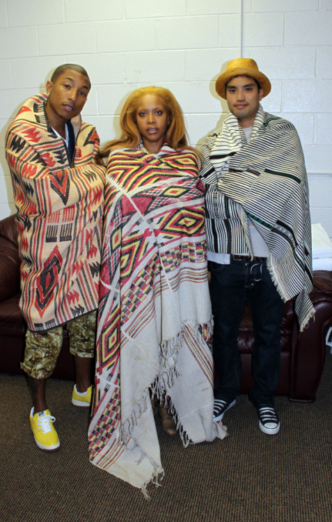 misterand:  Pharrell Williams, Erykah Badu and Chad Hugo
