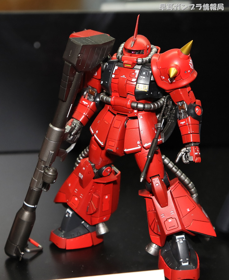 reflexinthepuddle:  fuckyeahjohnnyridden:  funnels-launch:  gunota:  Zaku II Johnny Ridden Custom  for zeon for admiral hey its ya boy  Very nice.  favourite pilot, favourite colour scheme *w*  The Crimson Lightning appreciates your support!