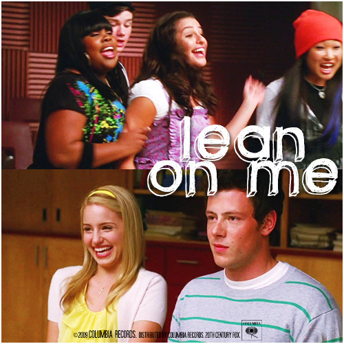 1x10 Ballad | Lean On Me Alternative Cover 'The Faberry Series'