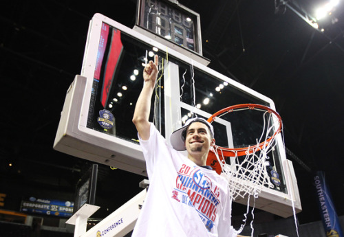 Marshall Henderson may be a P.R. nightmare for the N.C.A.A., says Ian Crouch— but one of its own making: http://nyr.kr/ZOeGiz  Photograph by Andy Lyons/Getty.