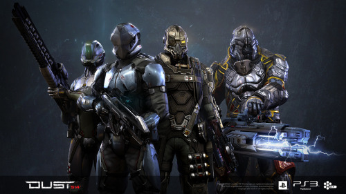 DUST 514 Deploys May 14th on PS3 PlayStation-exclusive MMO from Eve Online developer to launch on May 14. The project was first unveiled at the Game Developers Conference (GDC) in 2009, and will be CCP Games' first new title since 2003's Eve Online. Exclusive to the PlayStation 3, the game will be linked with the wider Eve Online universe.