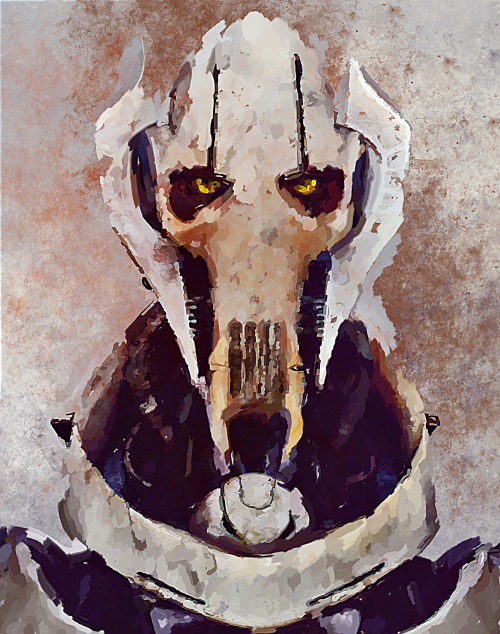 mechamelissa:   General Grievous by ~nicollearl
