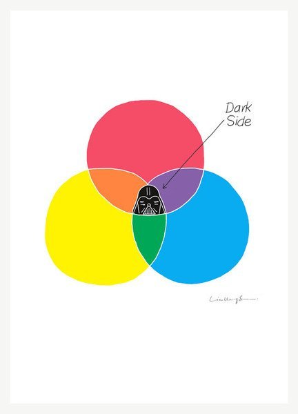 Dark Side Art Print(via Fancy)