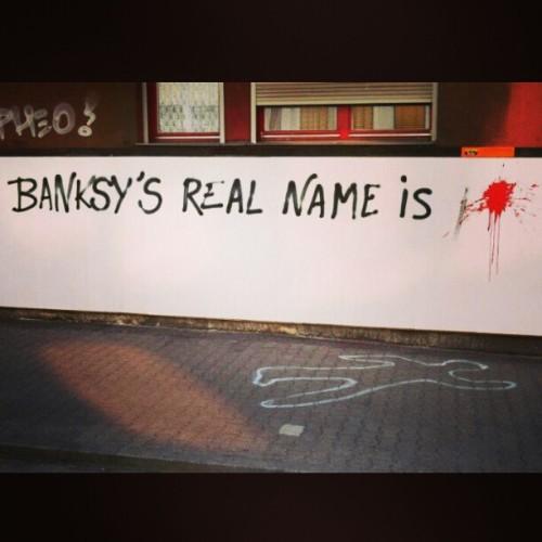 #banksy #sniped