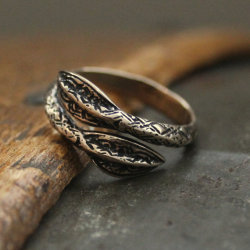 Bronze Spearhead Ring of the Thenn (via Moon Raven Designs)