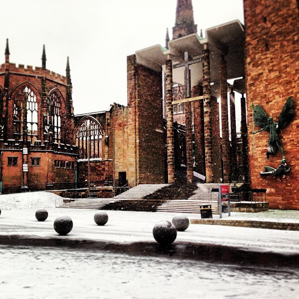 Wonder in the Snow #Coventry