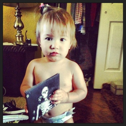 themainepat:  Sofia got her copy of Forever Halloween. Have you Pre-ordered yet?