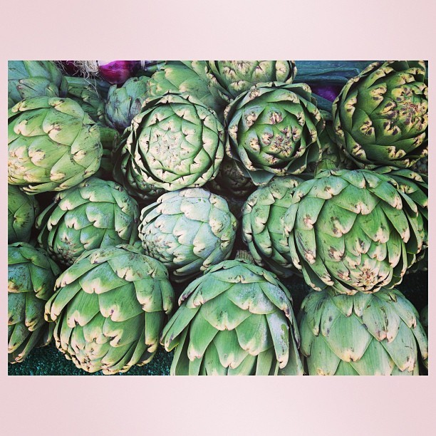 beautiful artichokes (via hellop1nky on Instagram)
