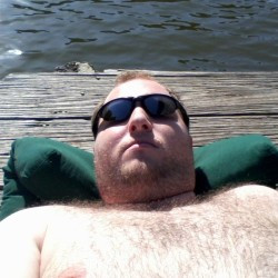 Perfect way to end a crappy week happy cub in the sun  (at Cross Lake)
