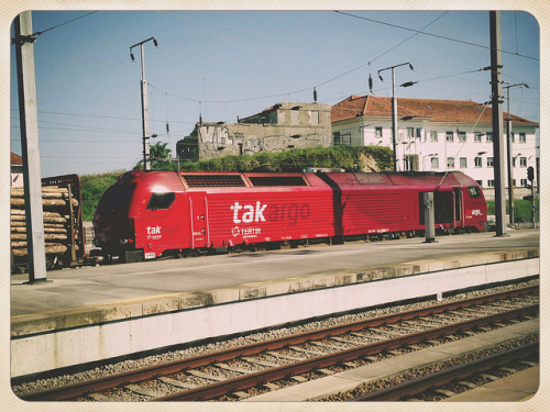 Locomotiva on Flickr.Porto